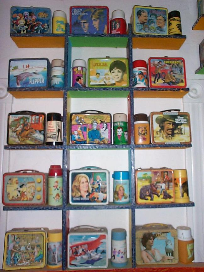 Television Lunchboxes
