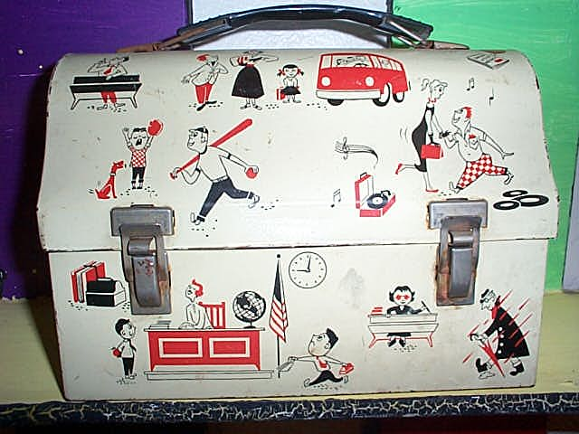 4. Rare Teenager Dome Lunch Box